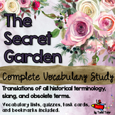 The Secret Garden Vocabulary Study