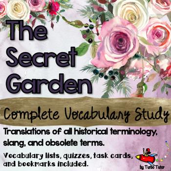 The Secret Garden Vocabulary Study