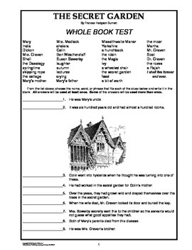 Secret Garden Whole Book Test