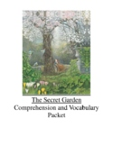 The Secret Garden by Frances Hodgson Burnett Comprehension and Vocabulary Packet