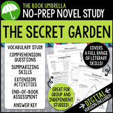 The Secret Garden Novel Study - Distance Learning - Google Classroom