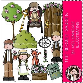 The Secret Garden clip art - Melonheadz Clipart