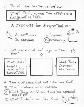 The Secret Ingredient  5th Grade Harcourt Storytown Lesson 10