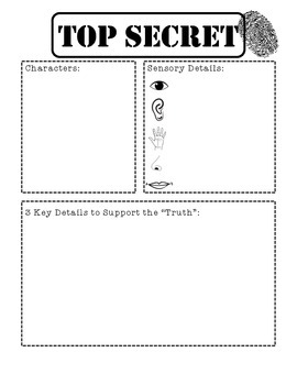 The Secret Knowledge of Grown Ups Graphic Organizers