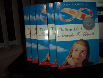 The Secret Life of Amanda K. Woods ISBN 0-439-11551-5  (Set of 7)