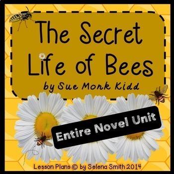 The Secret Life of Bees Complete Novel Unit