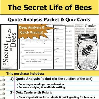 The Secret Life of Bees Unit Bundle
