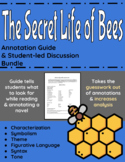 The Secret Life of Bees Annotation Guide and Student-led Discussion Bundle