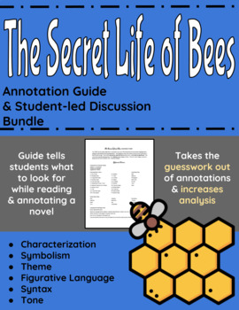The Secret Life of Bees Annotation Guide and Student-led D