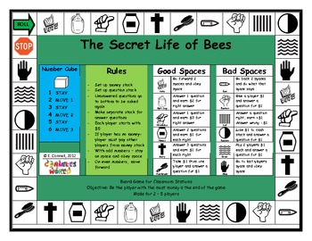 The Secret Life of Bees Board Game