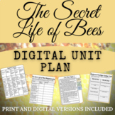 The Secret Life of Bees Digital Unit Plan with Escape Room!