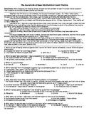 The Secret Life of Bees MSL/Final Exam/Common Exam Practice