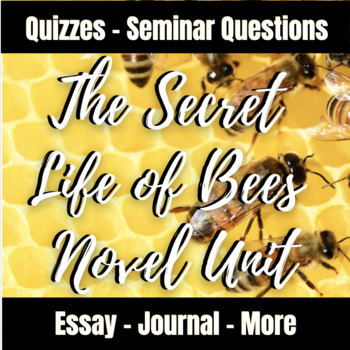 The Secret Life of Bees Novel Unit