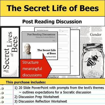The Secret Life of Bees - Socratic Method - Post Reading Discussions