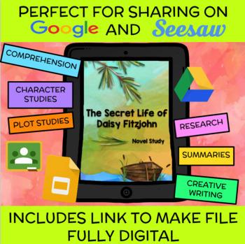 The Secret Life of Daisy Fitzjohn (Brightwood) Novel Study