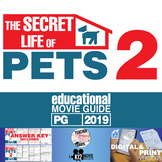 The Secret Life of Pets 2 Movie Guide | Questions | Worksheet (PG - 2019)