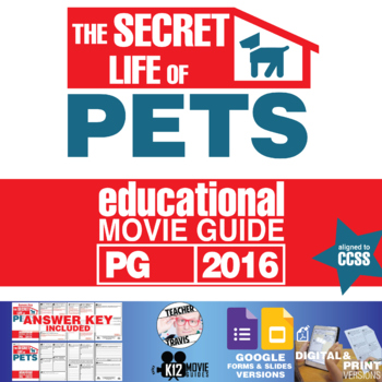 The Secret Life of Pets Movie Guide (PG - 2016)