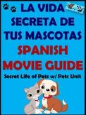 The Secret Life of Pets Movie Guide in Spanish / La Vida S