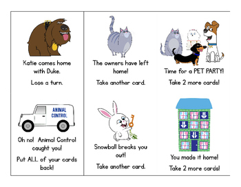 The Secret Life of Pets Sight Words Game! Contains the First 300 FRY Words