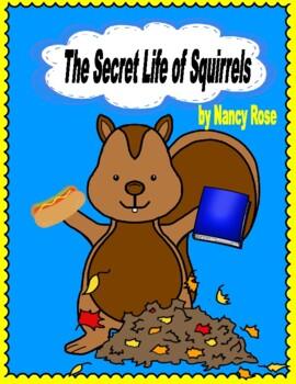 The Secret Life of Squirrels - Comprehension, Adjectives,