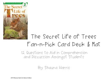 The Secret Life of Trees Fan & Pick Cards (Trophies 2nd grade)