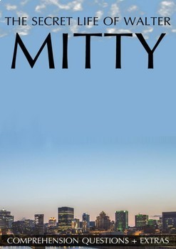 The Secret Life of Walter Mitty Movie Guide + Activities (Color + Black & White)