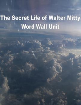 The Secret Life of Walter Mitty:Common Core CCSS: Word Wall Unit