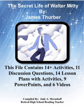 The Secret Life of Walter Mitty by James Thurber Teacher Supplemental Resources