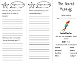 The Secret Message Trifold - Wonders 4th Grade Unit 2 Week 1