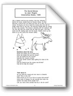 The Secret Moose (Chapter Book)