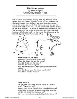 The Secret Moose (Chapter Book)