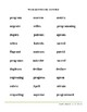 The Secret Rule: Syllable Division of vccv Words to Make First Vowel Long