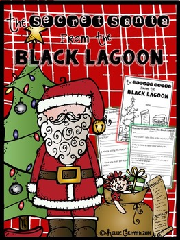 The Secret Santa From The Black Lagoon {Comprehension Ques