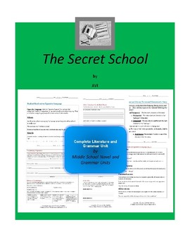 The Secret School Complete Literature and Grammar Unit