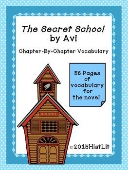 The Secret School by Avi Chapter Vocabulary
