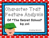 """The Secret School"" by: Avi Character Trait Feature Analysis"