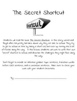 The Secret Shortcut - Using 6 Trait Writing to teach organization