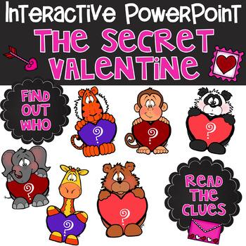 The Secret Valentine - Interactive PowerPoint