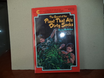The Secret of the Plant That Ate Dirty Socks ISBN 0-380-76757-0