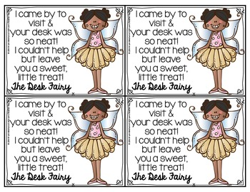 Desk Police Tickets & Desk Fairy Notes