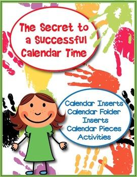 The Secret to a Successful Calendar Time- Calendar Activities