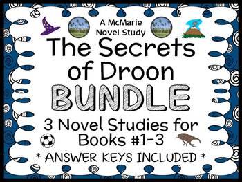 The Secrets of Droon BUNDLE (Abbott) 3 Novel Studies : Books #1-3  (80 pages)