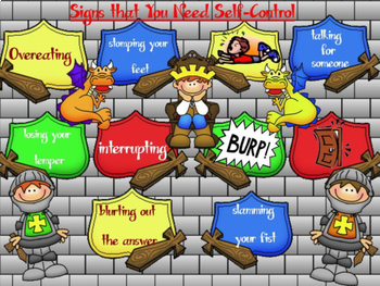 The Self-Control Dragon:  A Guidance Lesson on Regulating Yourself PDF version