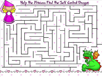The Self-Control Dragon:  A Guidance PowerPoint Lesson on Regulating Yourself