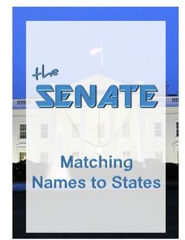 The Senate - Matching Names to States