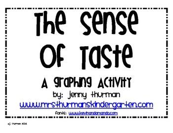 The Sense of Taste: A Graphing Activity