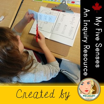 Senses - Primary Unit based on Inquiry and Hands-On Learning (includes booklet)