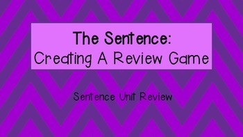 The Sentence: Create Your Own Review Board Game