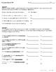 The Sentence: Diagnostic Test for Grades 7-12!