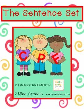 The Sentence Set Printables